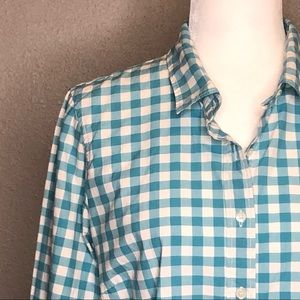 J. Crew Women's Perfect Shirt Gingham